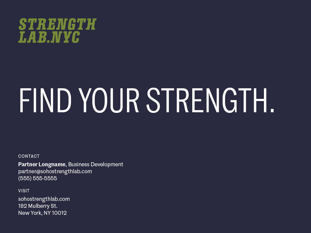 Strength Lab Nyc20