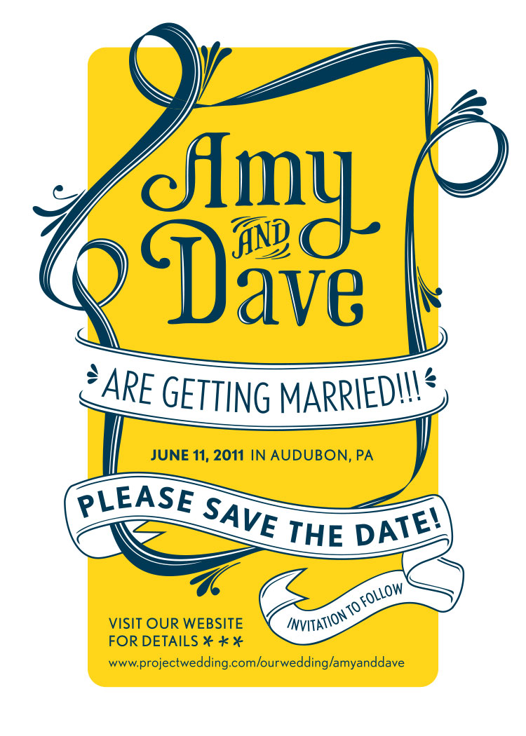 Amydave Savethedate Edit